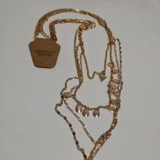 Schmuck - Collar Dorado Múltiple Colgante Piedra Natural - 151723406