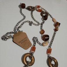 Schmuck - Collar Colgante Flor Piedra Natural - 152560826
