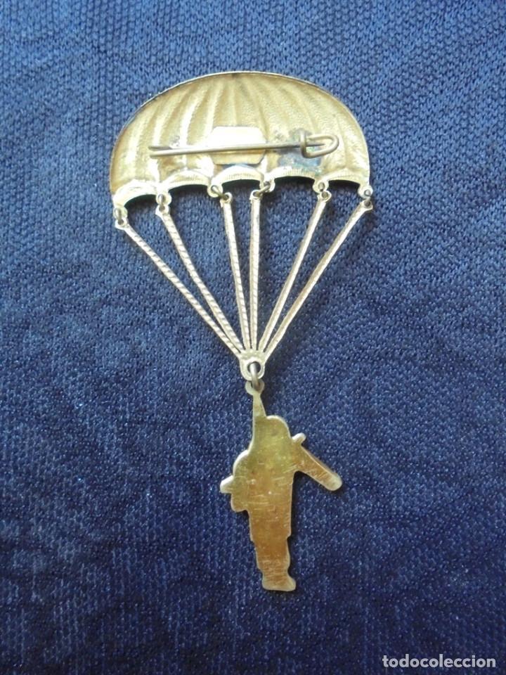 Joyeria: Vintage broche Paracaidista - Foto 2 - 155969966