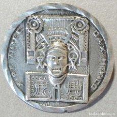 Joyeria: BROCHE DE PLATA MEJICANA. DIÁMETRO 31 MM.. Lote 155977814