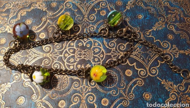 Joyeria: Pulsera cuentas cristal artesanal de Janil - Foto 2 - 157366744
