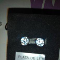 Joyeria: PENDIENTES DE PLATA 925. Lote 158031800
