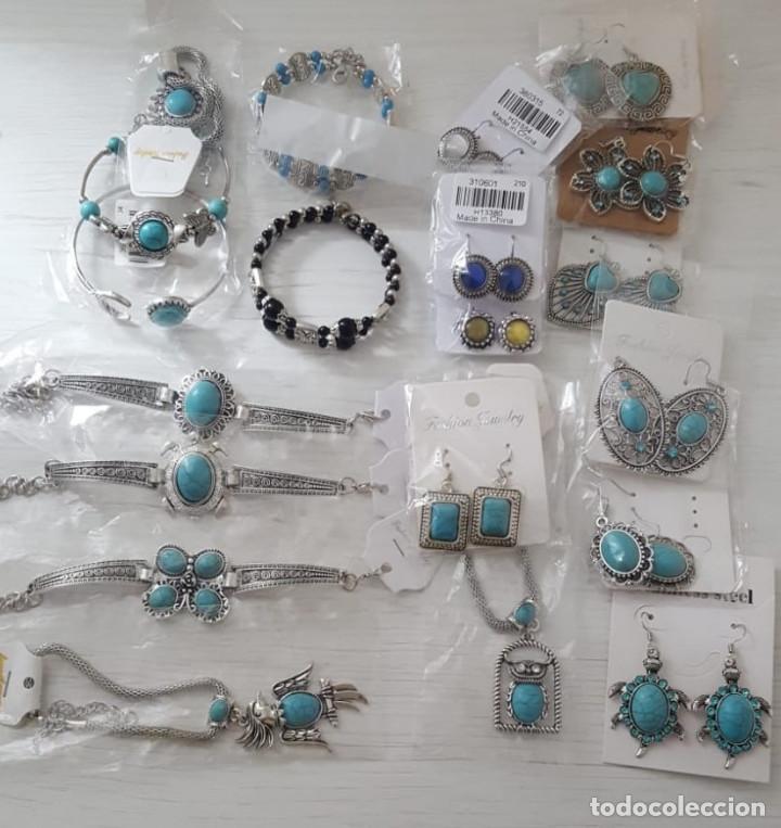 b60a826d11e2 Lote de pulseras y pendientes de Plata Tibetana modelo 1