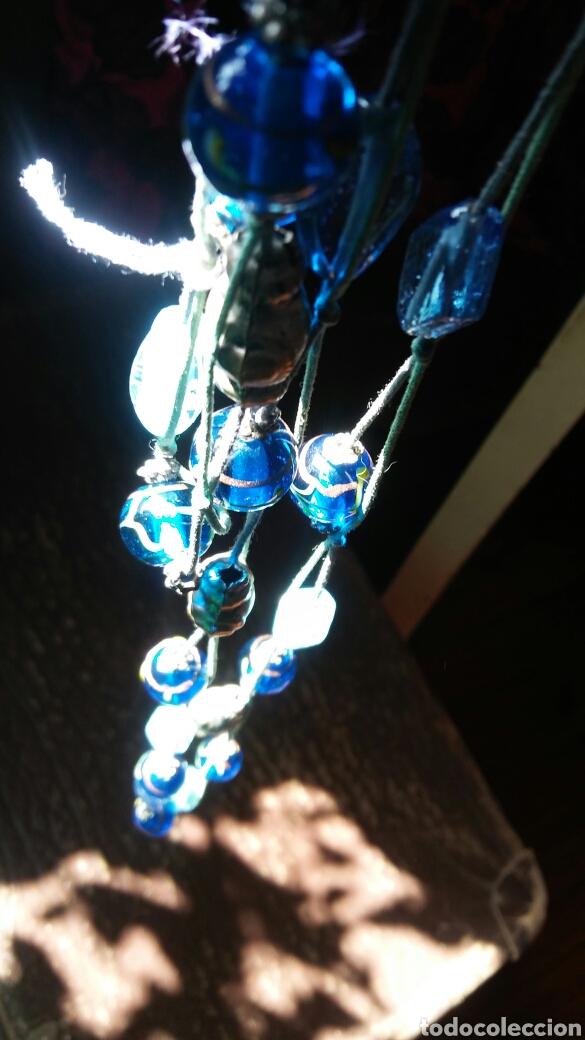 Joyeria: Collar cuentas cristal con oro - Foto 5 - 161230932