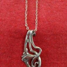 Jewelry - Precioso colgante de plata estilo modernista. - 161683222