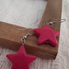 Joyeria - Pendientes plástico estrella - 164970294