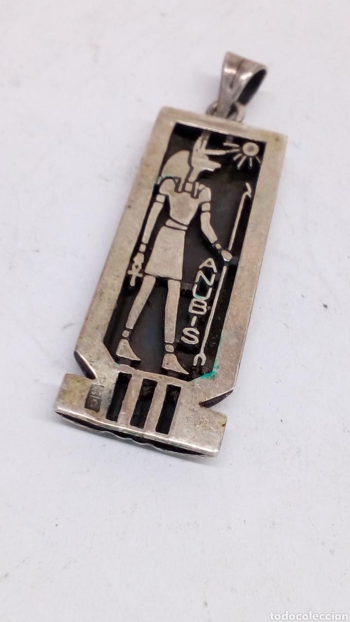 Joyeria: Colgante de plata egipcio - Foto 2 - 167090274