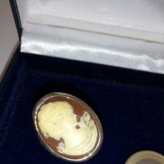 Jewelry - BONITO COLGANTE ANTIGUO CAMAFEO TIPO BROCHE - 167832405