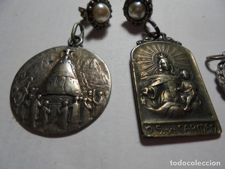 Joyeria: lote de varias piezas en plata - Foto 4 - 167878864