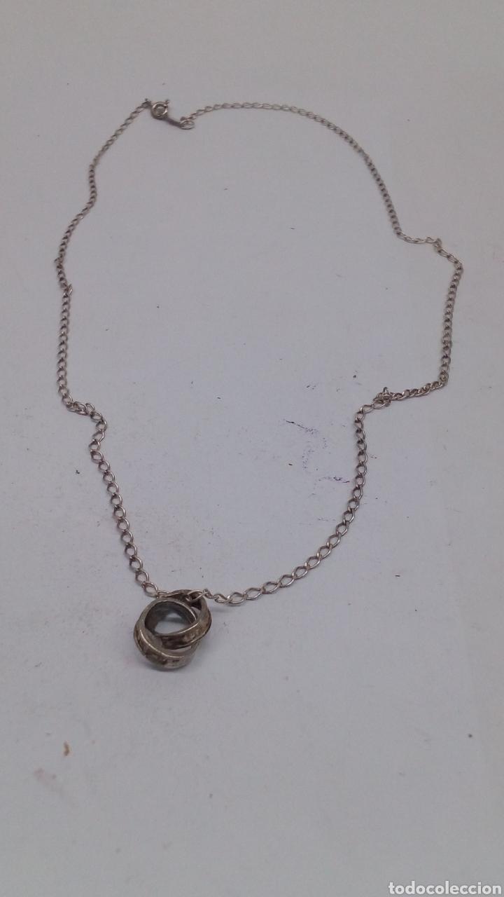 Joyeria: Collar y colgante de plata - Foto 2 - 169449690