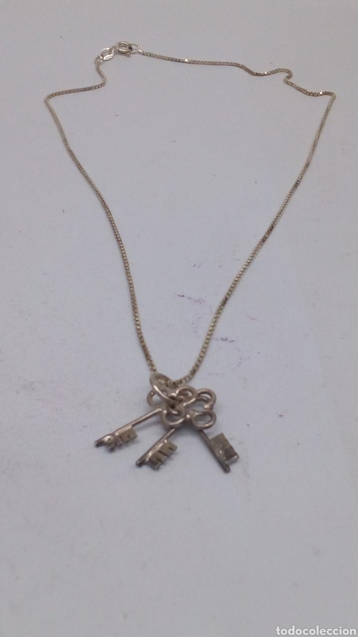 Joyeria: Collar y colgante de plata - Foto 2 - 169452878