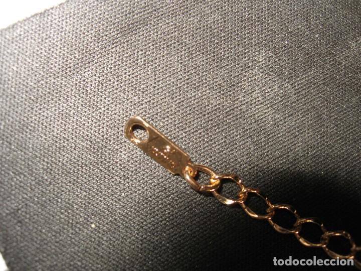 Joyeria: Pulsera dorada con circonios de colores, estilo oriental. - Foto 11 - 170553276