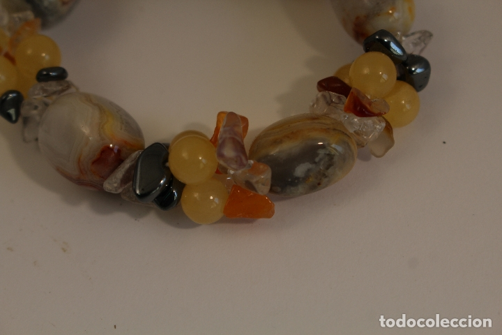 Joyeria: pulsera de piedras naturales - Foto 2 - 171556554