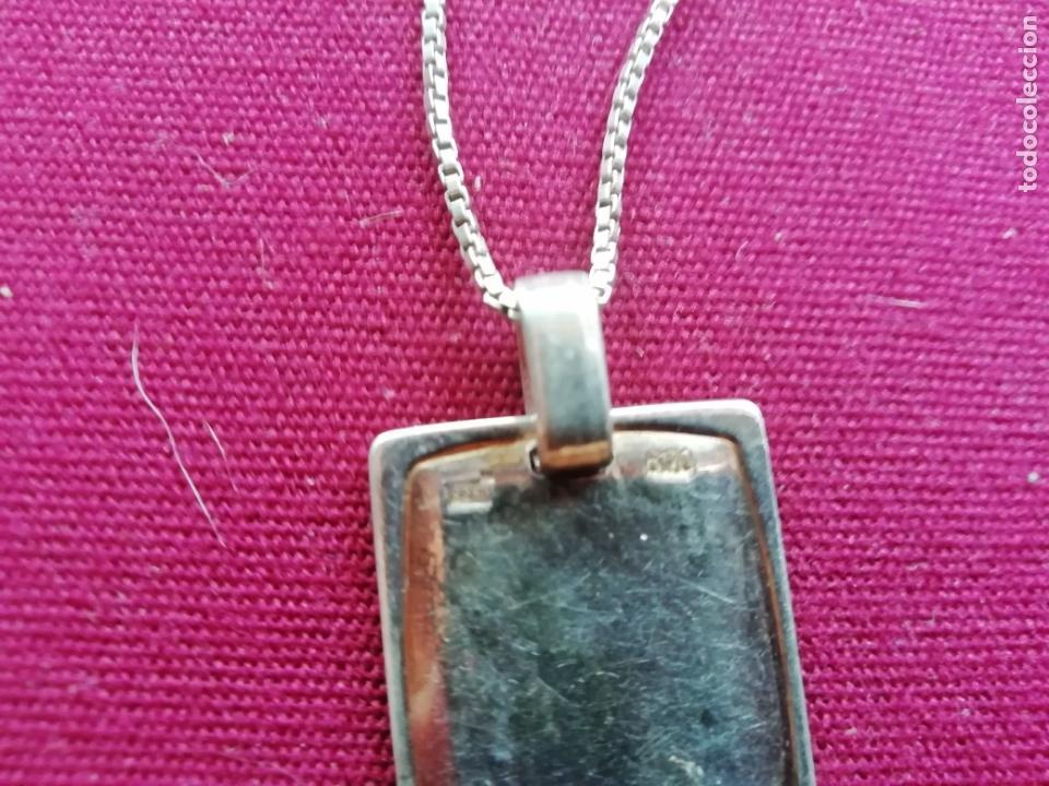 Joyeria: Cadena de plata contrastada de 925. Colgante corazones - Foto 4 - 171800674