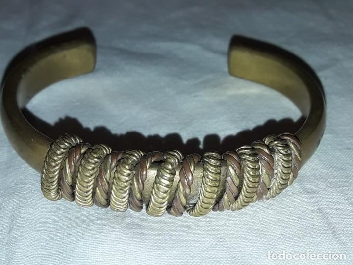 Joyeria: Bella pulsera brazalete de bronce - Foto 5 - 175843905