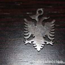 Joyeria: COLGANTE DE MEDALLA AGUILA BICEFALA PLATEADO. Lote 178990351