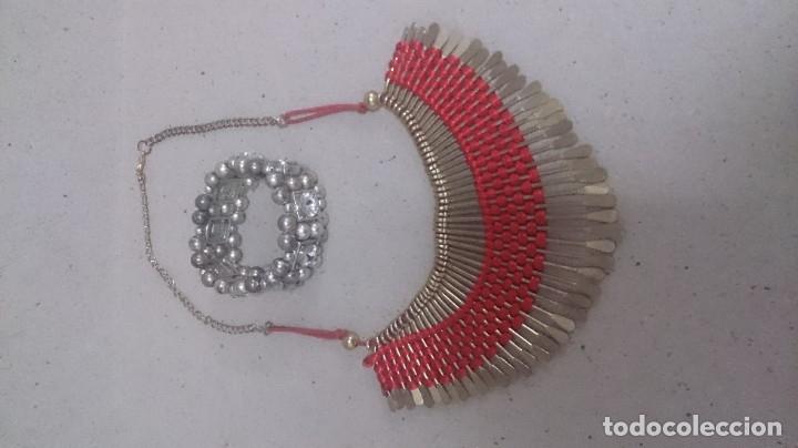 Joyeria: 5 collares. 3 pulseras. 2 anillos visitaría. 169 - Foto 5 - 180425266