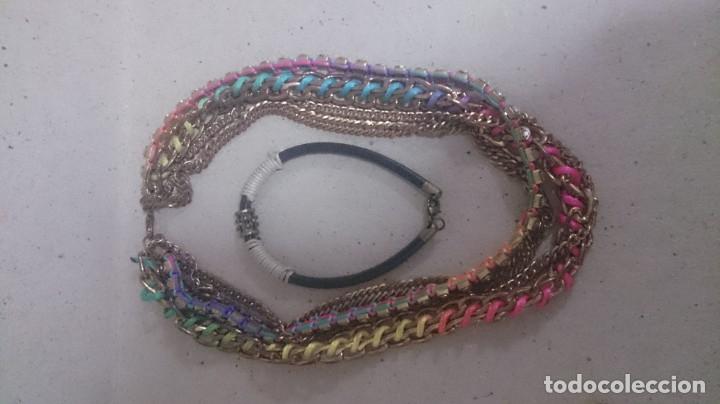 Joyeria: 5 collares. 3 pulseras. 2 anillos visitaría. 169 - Foto 6 - 180425266
