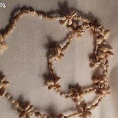 Joyeria: COLLAR LARGO DE CARACOLAS NATURALES DE MAR.. Lote 184083455