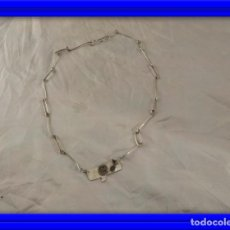 Joyeria: ORIGINAL COLLAR GARGANTILLA DE PLATA. Lote 184663250