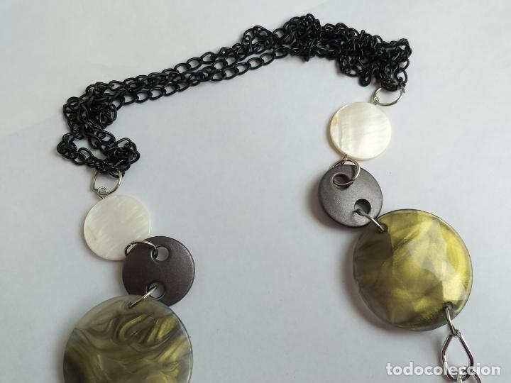 Joyeria: Collar antiguo. Combinación de elementos. 68 CM - Foto 2 - 189876343
