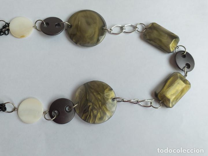Joyeria: Collar antiguo. Combinación de elementos. 68 CM - Foto 4 - 189876343