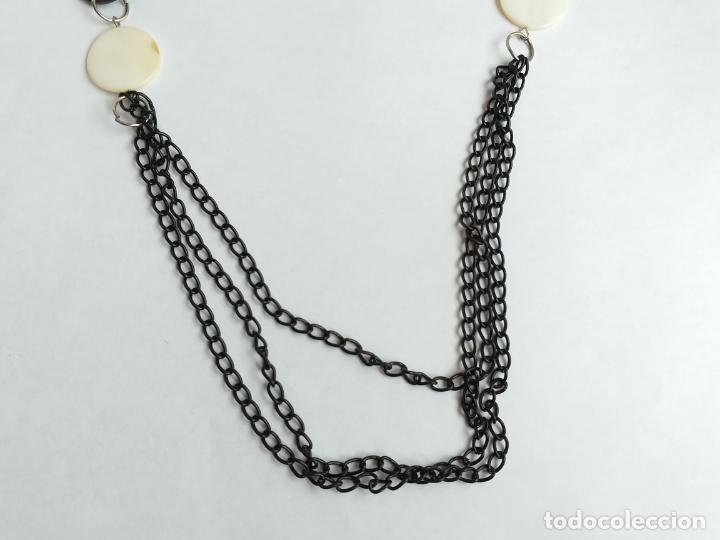 Joyeria: Collar antiguo. Combinación de elementos. 68 CM - Foto 5 - 189876343