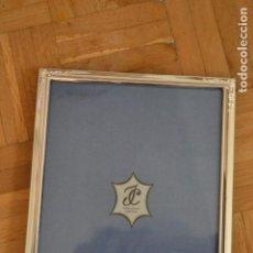 Joyeria: MARCO FOTOS BAÑO DE PLATA 26,5 X 20,5 CM. ISABEL CABANILLAS. Lote 190045732