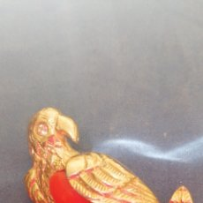 Joyeria: ANTIGUO BROCHE DE LORO POSADO EN RAMA. Lote 190350466