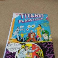 Joyeria: TITANES PLANETARIOS Nº 64 MUY DIFÍCIL NOVARO. Lote 191306170