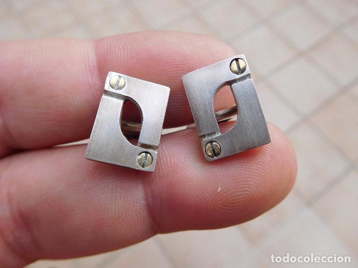 Joyeria: Gemelos de plata de la firma Puig Doria - Foto 2 - 193711437