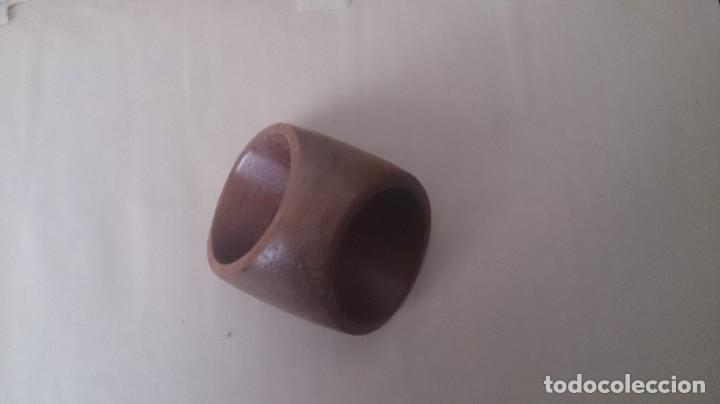 Joyeria: Anillo de madera y metal. ¿Plata? SALAMANDRA m 46 - Foto 4 - 194299243