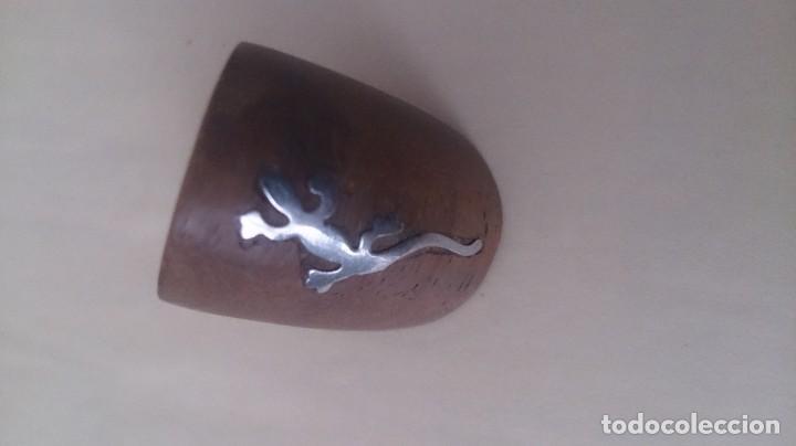 Joyeria: Anillo de madera y metal. ¿Plata? SALAMANDRA m 46 - Foto 7 - 194299243