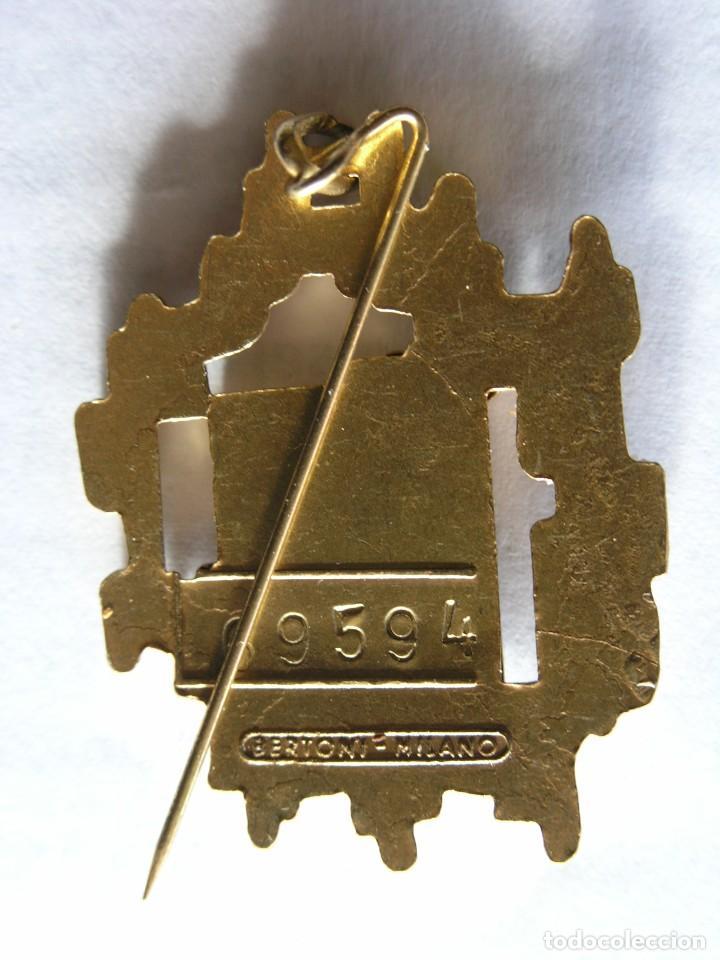 Joyeria: BROCHE / COLGANTE FERIA DE MILÁN 1966 - METAL Y ESMALTE - NUMERADO - BERTONI-MILANO - Foto 2 - 195117795