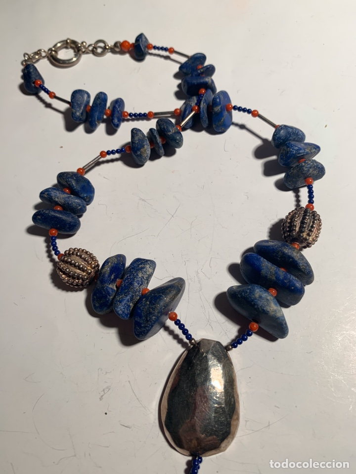 Joyeria: Collar lapislázuli - Foto 2 - 195201278