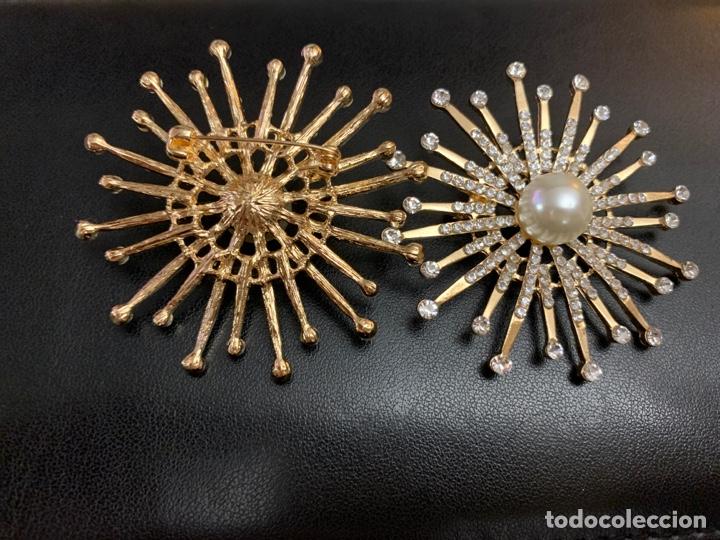 Joyeria: Elegantes broches con pedrería y perlas - Foto 2 - 195217817