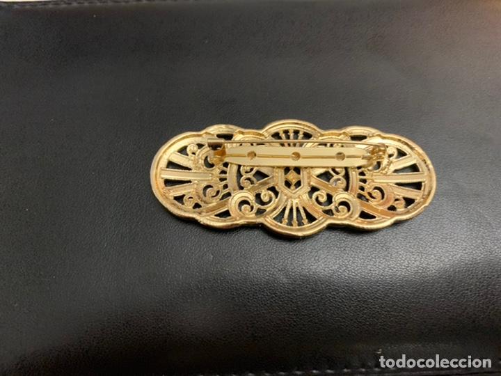 Joyeria: Broche estilo antiguo dorado - Foto 2 - 195221626