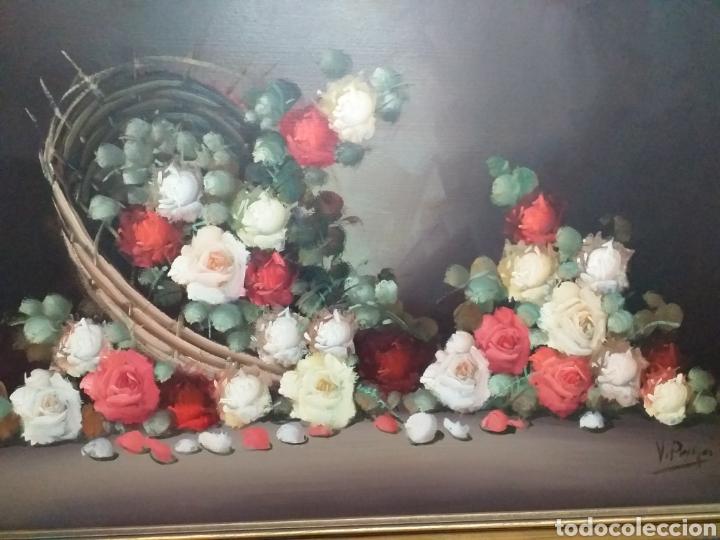 Joyeria: Gran oleo sobre lienzo de Vicente Payá 106x74 cm - Foto 2 - 195338902