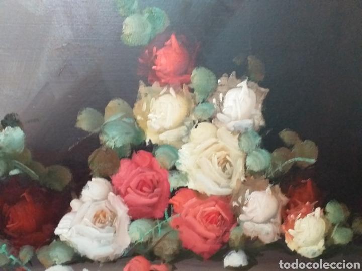 Joyeria: Gran oleo sobre lienzo de Vicente Payá 106x74 cm - Foto 4 - 195338902
