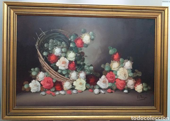 Joyeria: Gran oleo sobre lienzo de Vicente Payá 106x74 cm - Foto 7 - 195338902