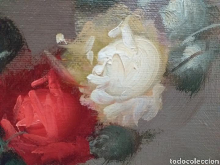 Joyeria: Gran oleo sobre lienzo de Vicente Payá 106x74 cm - Foto 8 - 195338902