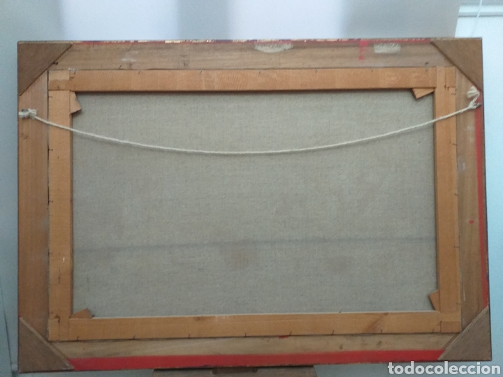 Joyeria: Gran oleo sobre lienzo de Vicente Payá 106x74 cm - Foto 9 - 195338902