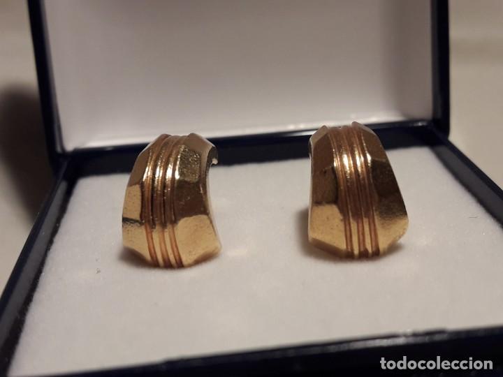 Joyeria: Bellos pendientes con baño de oro - Foto 2 - 199916130