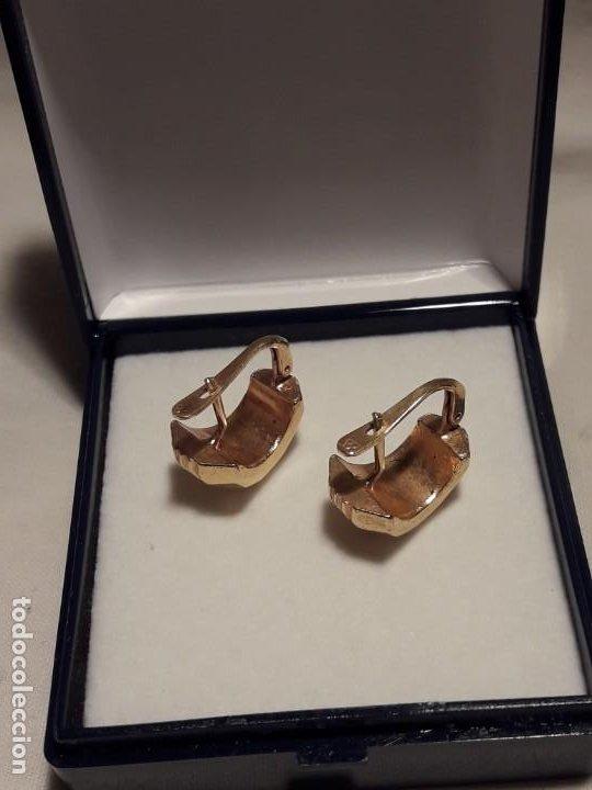 Joyeria: Bellos pendientes con baño de oro - Foto 6 - 199916130
