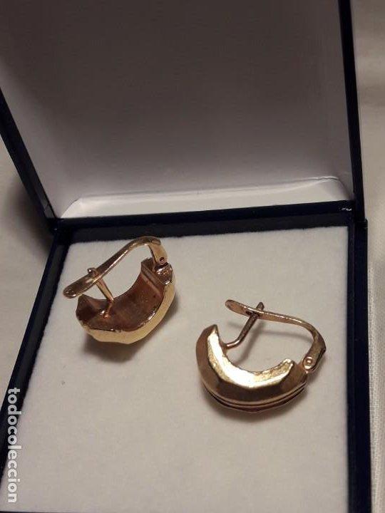 Joyeria: Bellos pendientes con baño de oro - Foto 8 - 199916130