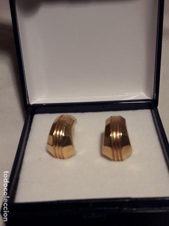 Joyeria: Bellos pendientes con baño de oro - Foto 10 - 199916130