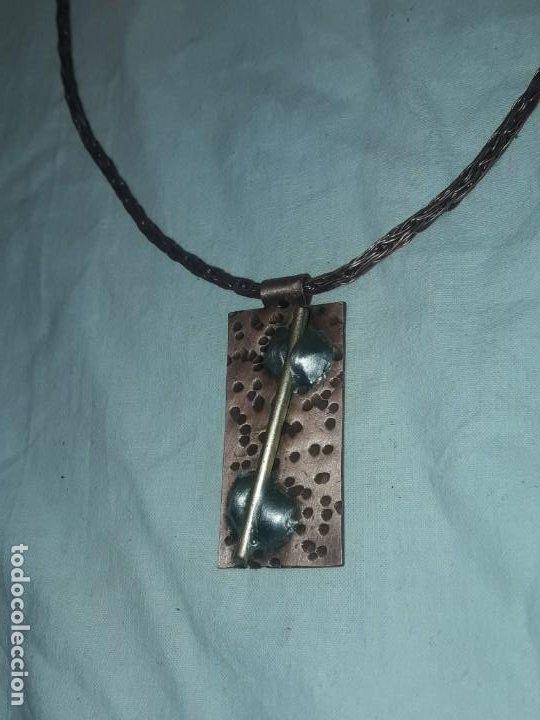 Joyeria: Bello collar cobre y bronce hecho a mano - Foto 3 - 200143278