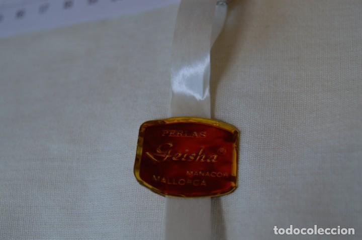 Joyeria: Vintage / NOS - 5 Collares de PERLAS GEISHA / Facto Perlas S.A. - Manacor / MALLORCA - ¡MIra! - Foto 5 - 202018136