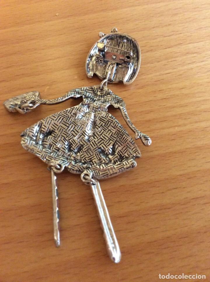 Joyeria: Broche juvenil de acero y esmalte - Foto 3 - 205740675