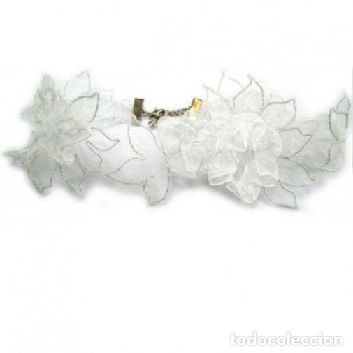 Joyeria: Gargantilla de novia color blanco, nueva - Foto 2 - 206562368